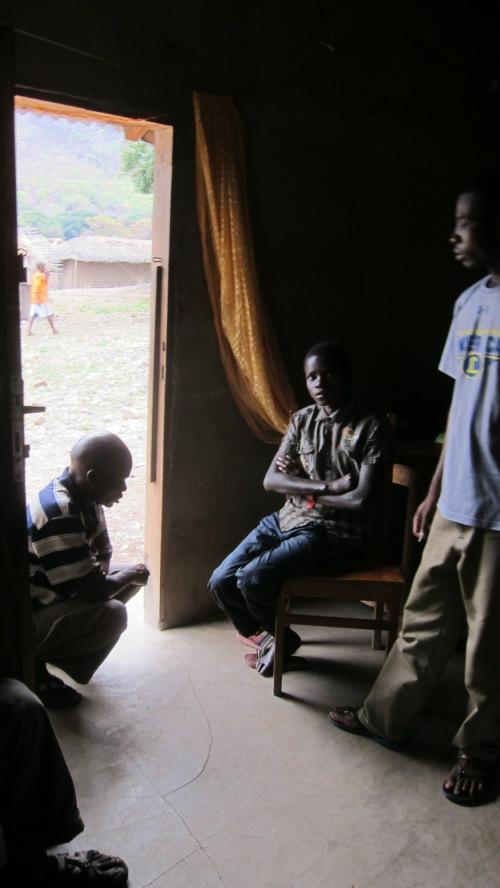 Boy With Leprosy