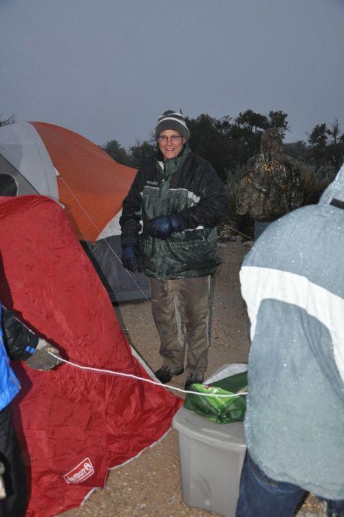 James Tent Set-up