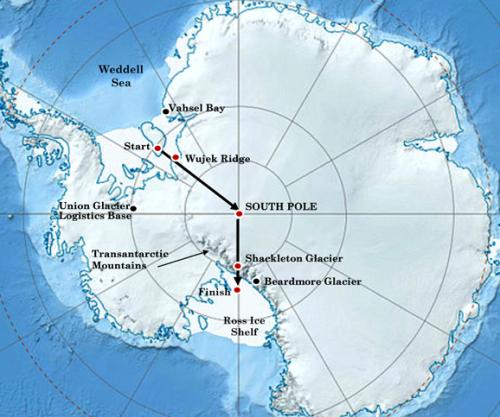 Schakelton Solo Antarctica Map