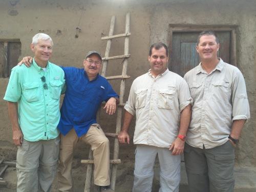 Team in Tanzania