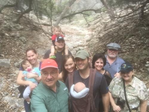 Family Hike Selfie