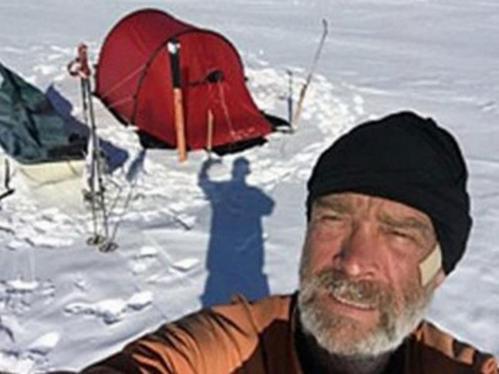 Henry Worsley Selfie
