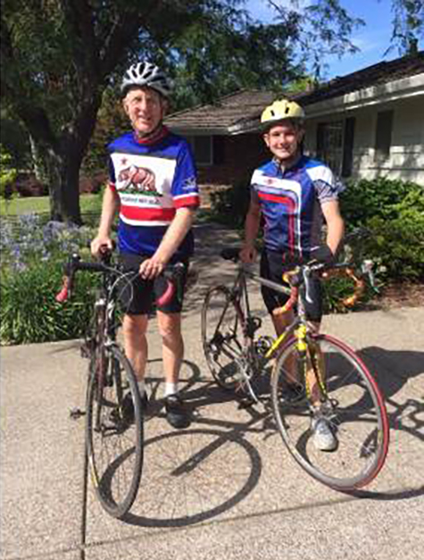 Jim Olson and Tex