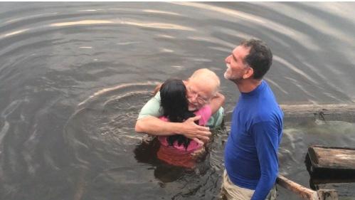 Jay Baptizing