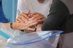 Praying Trio Hands