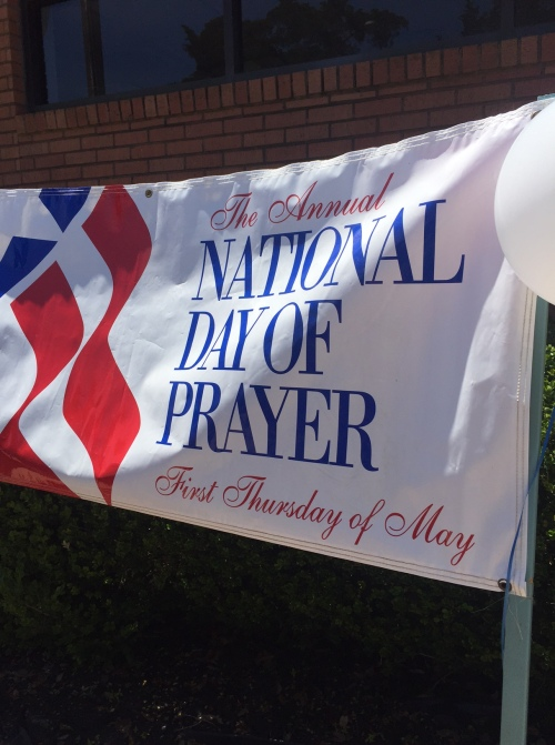 Ntl Day of Prayer Banner