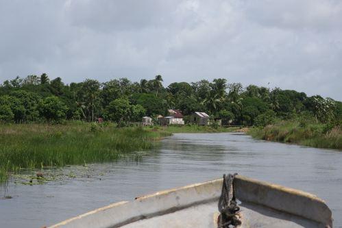 Approach Miskito Village