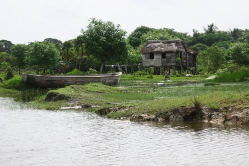 Miskito Home and Boat
