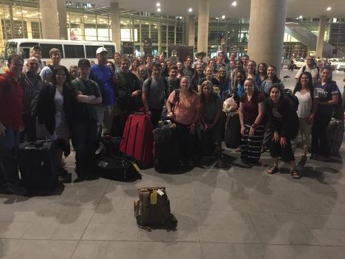 Jordan 2016 Team Amman Airport