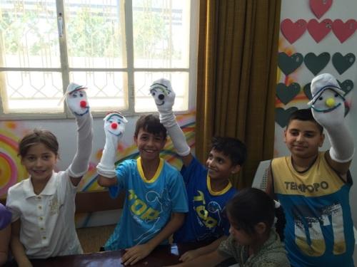 Iraqi Refugee Kids