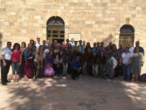 Students at Madaba 2016