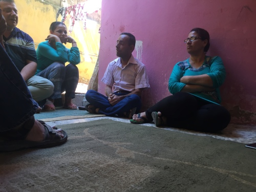 Iraqi Refugees at Home