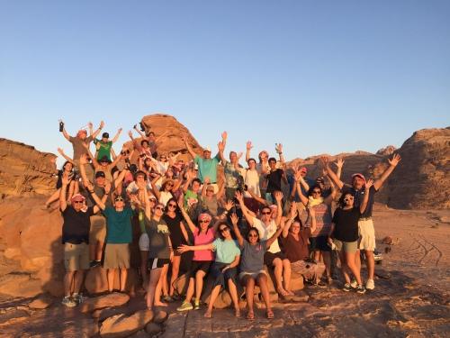 Wadi Rum Students
