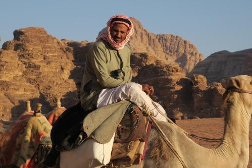 Wadi Rum Camel Man