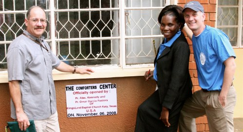 Uganda 08 Comforter's Dedication