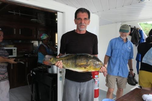 Pastor Eli w Peacock Bass