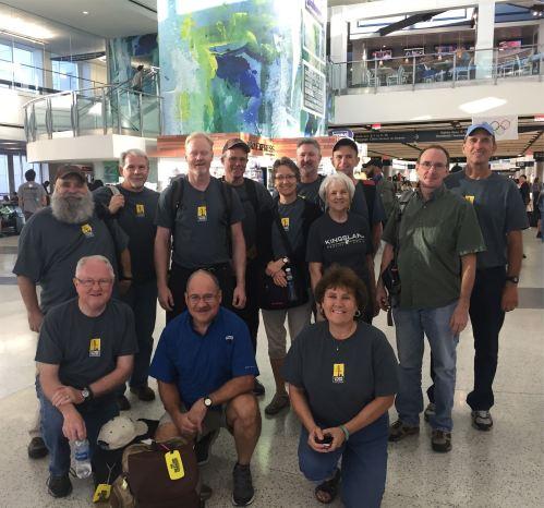 team-at-airport