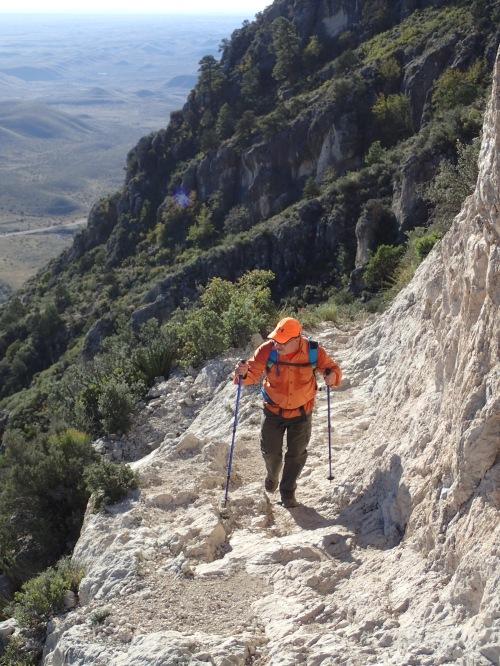 Omar on Guadalupe Peak Trail